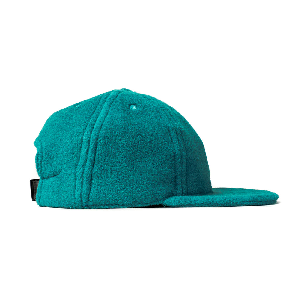 Teal Polartec Fleece Ball Cap