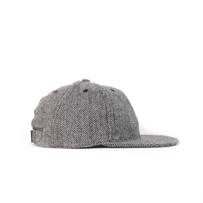 Herringbone Tweed Ball Cap