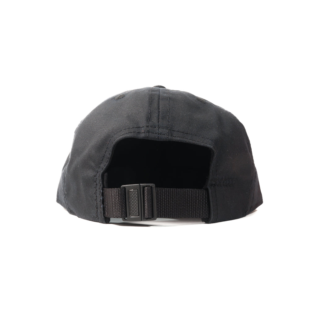 FairEnds — Black Waxed Cotton Ball Cap d446a642287