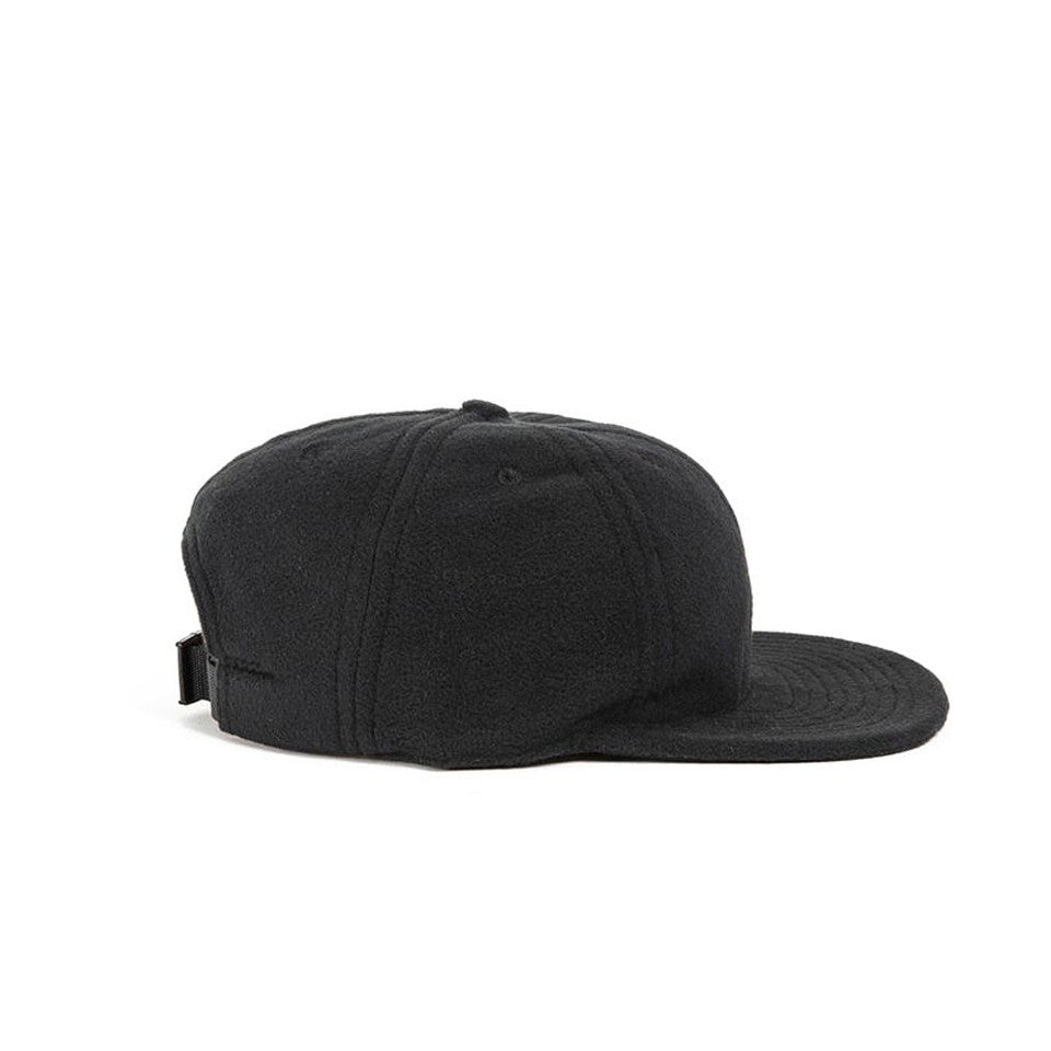 Black Polartec Fleece Ball Cap