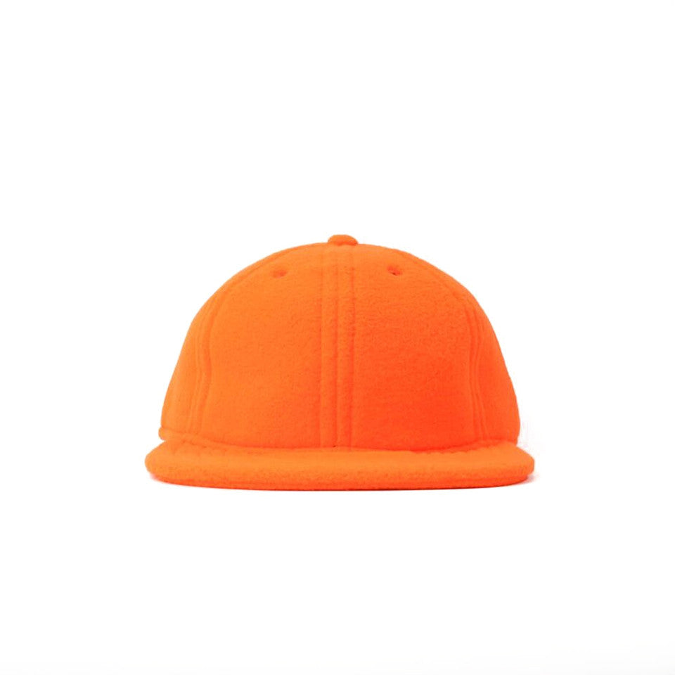 Blaze Orange Polartec Fleece Ball Cap