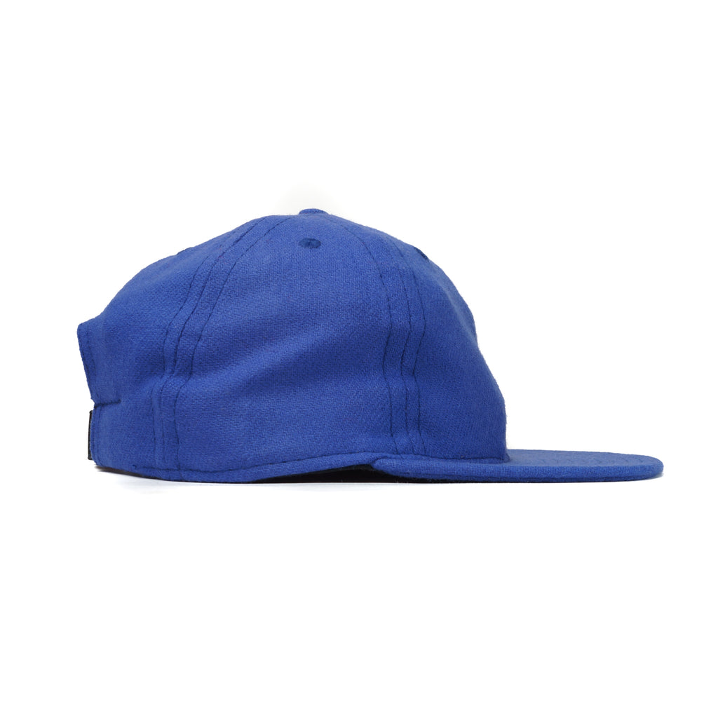 Violet Blue Flannel Ball Cap