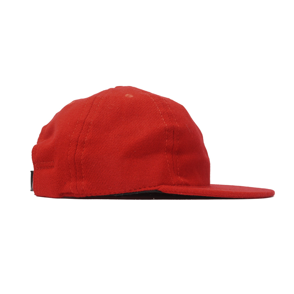 Red Flannel Ball Cap