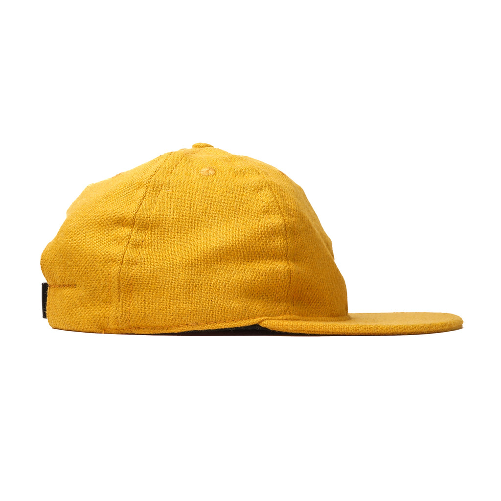 Turmeric Flannel Ball Cap