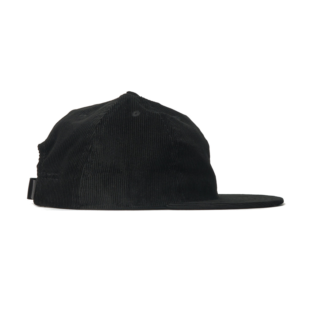Black Corduroy Ball Cap