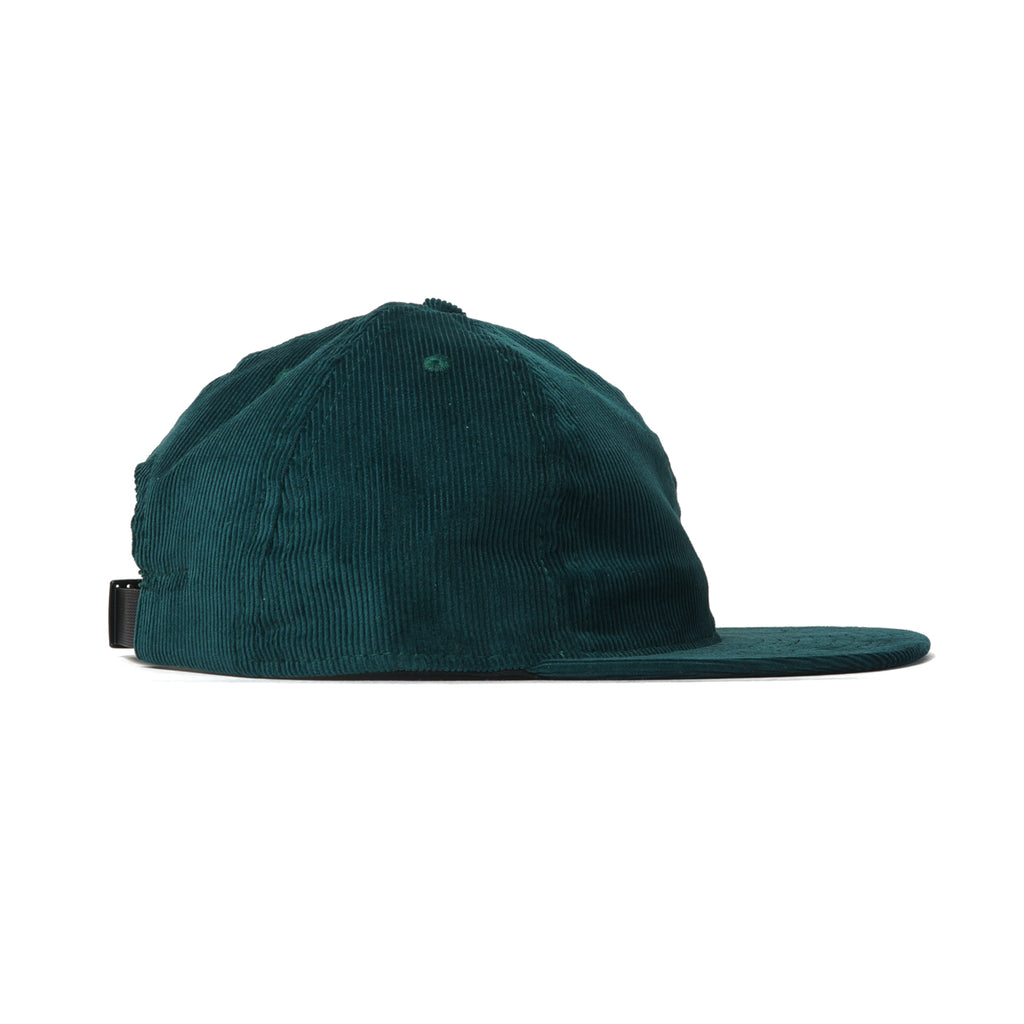 Dark Green Corduroy Ball Cap