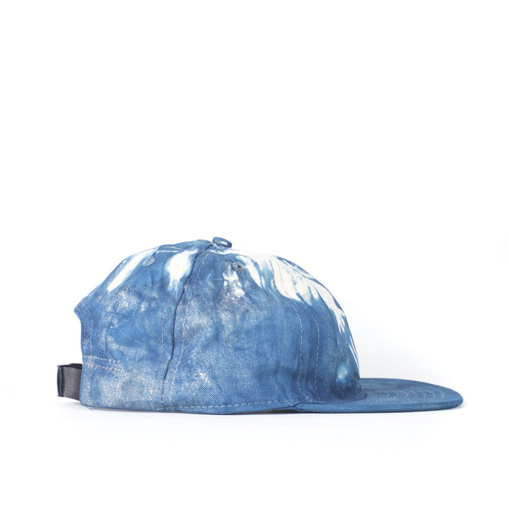 Indigo Dyed Twill Ball Cap