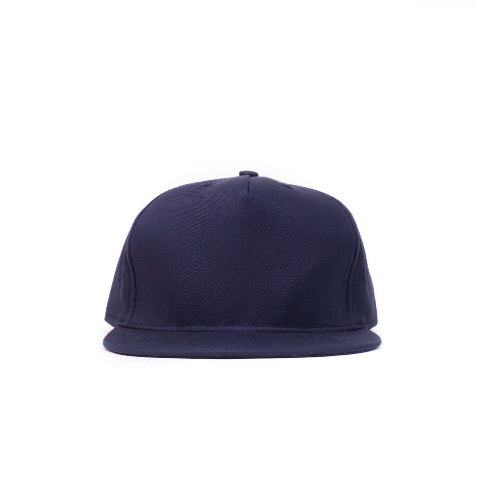Navy Cotton Twill Farm Cap