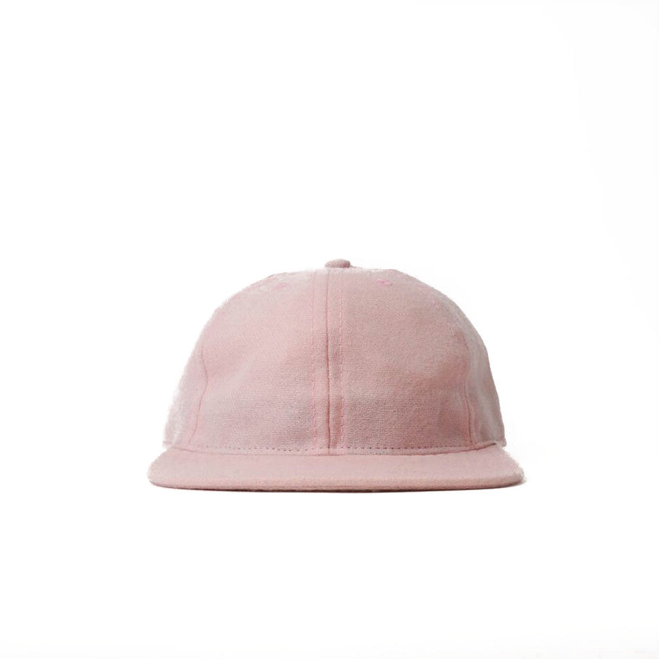 Pink Flannel Ball Cap