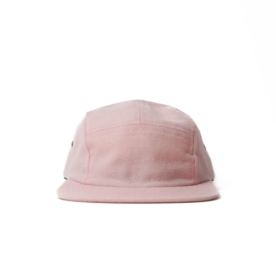 Pink Flannel Camp Cap