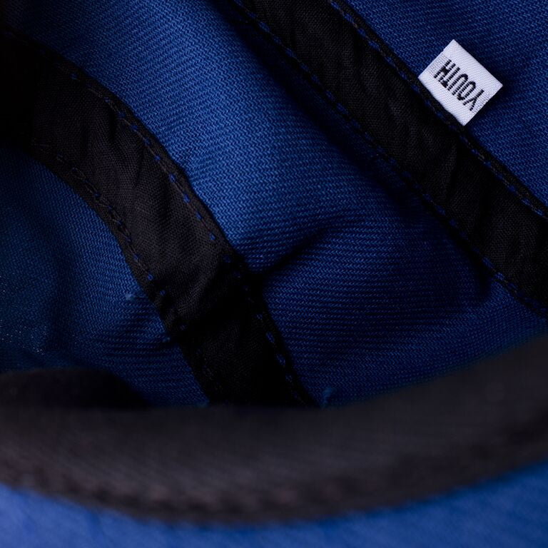 Blue Twill Youth Camp Cap