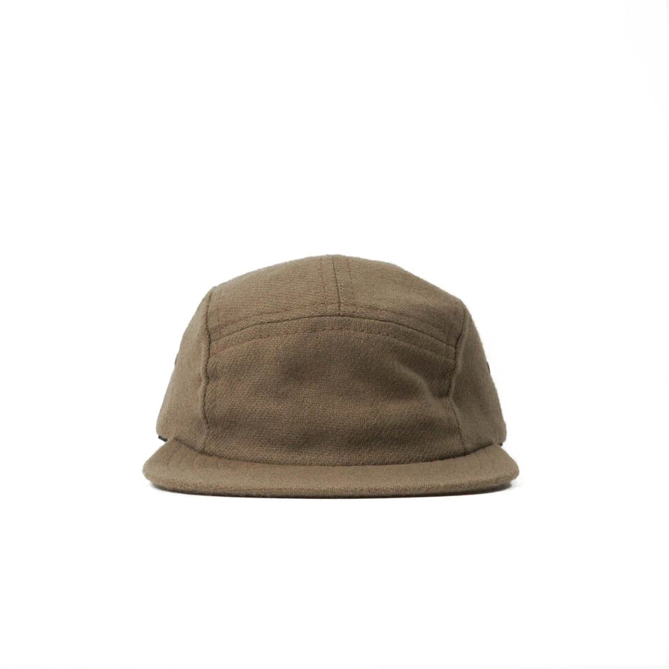 British Tan Flannel Camp Cap