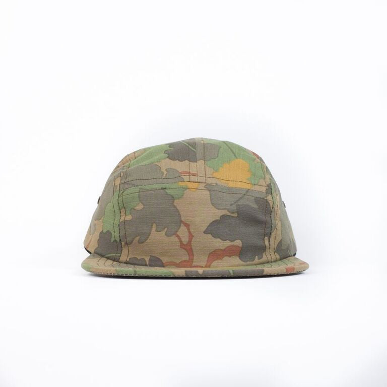 Leaf Camo Camp Cap