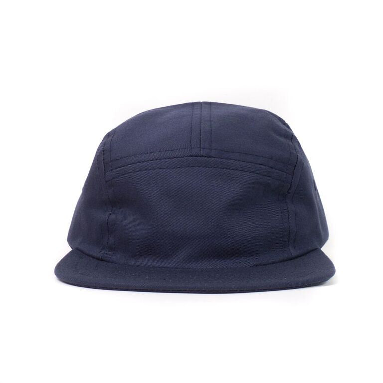 Navy Cotton Twill Camp Cap