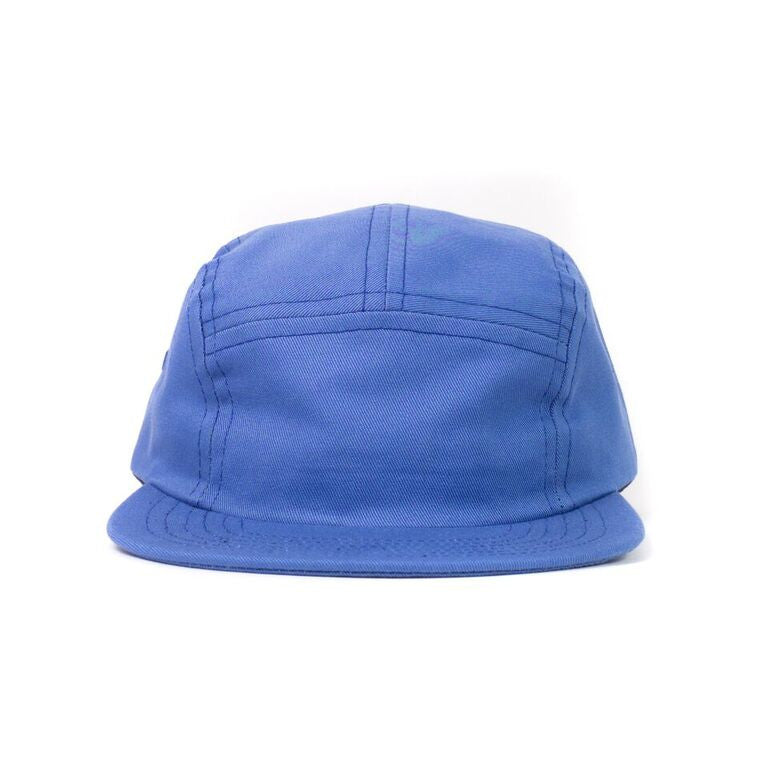 Blueberry Cotton Twill Camp Cap