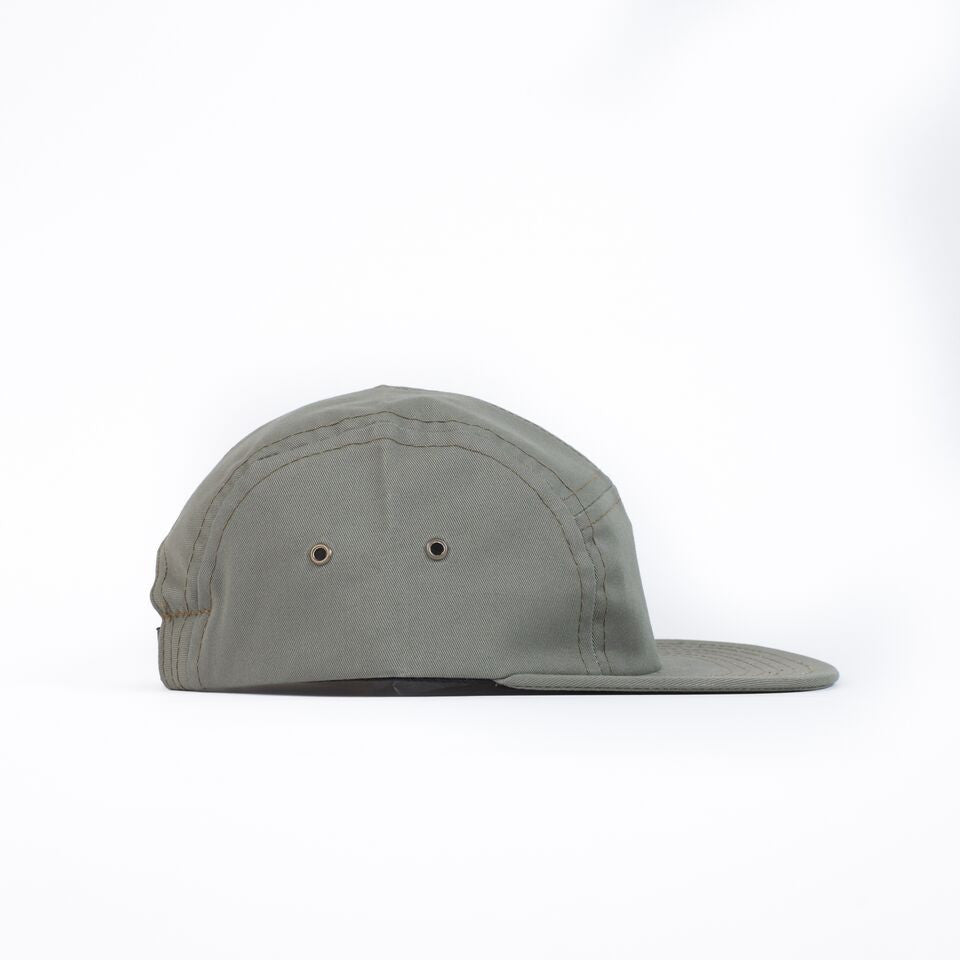 Olive Sneaky Tech Camp Cap