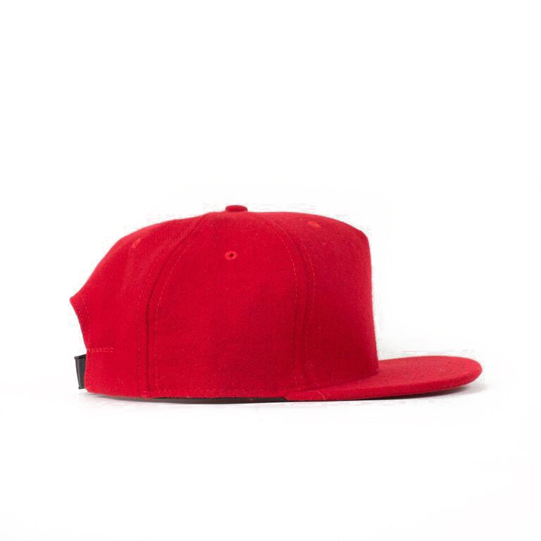 Red Flannel Farm Cap