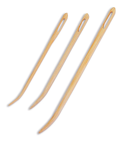 bamboo blunt needles (set of 3)