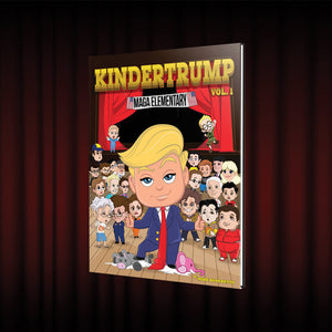 2 Physical & 2 Digital Copies of KINDERTRUMP (Bundle Promo)