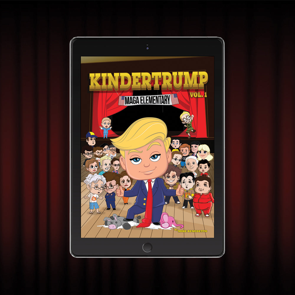 Digital Edition of KINDERTRUMP: Donald Trump in An Elementary Tale