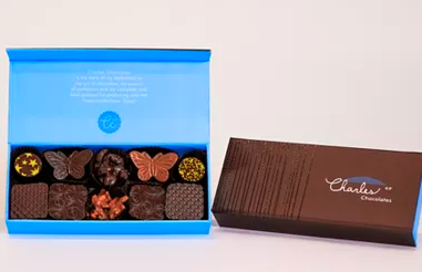 Charles Chocolates Nuts, Pralines & Caramels