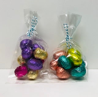 Chocolate Foil Wrapped Eggs