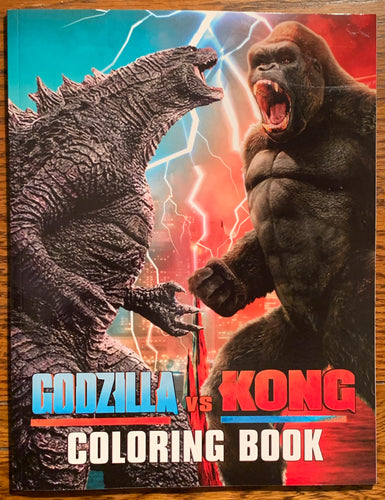 Godzilla vs. Kong Coloring Book