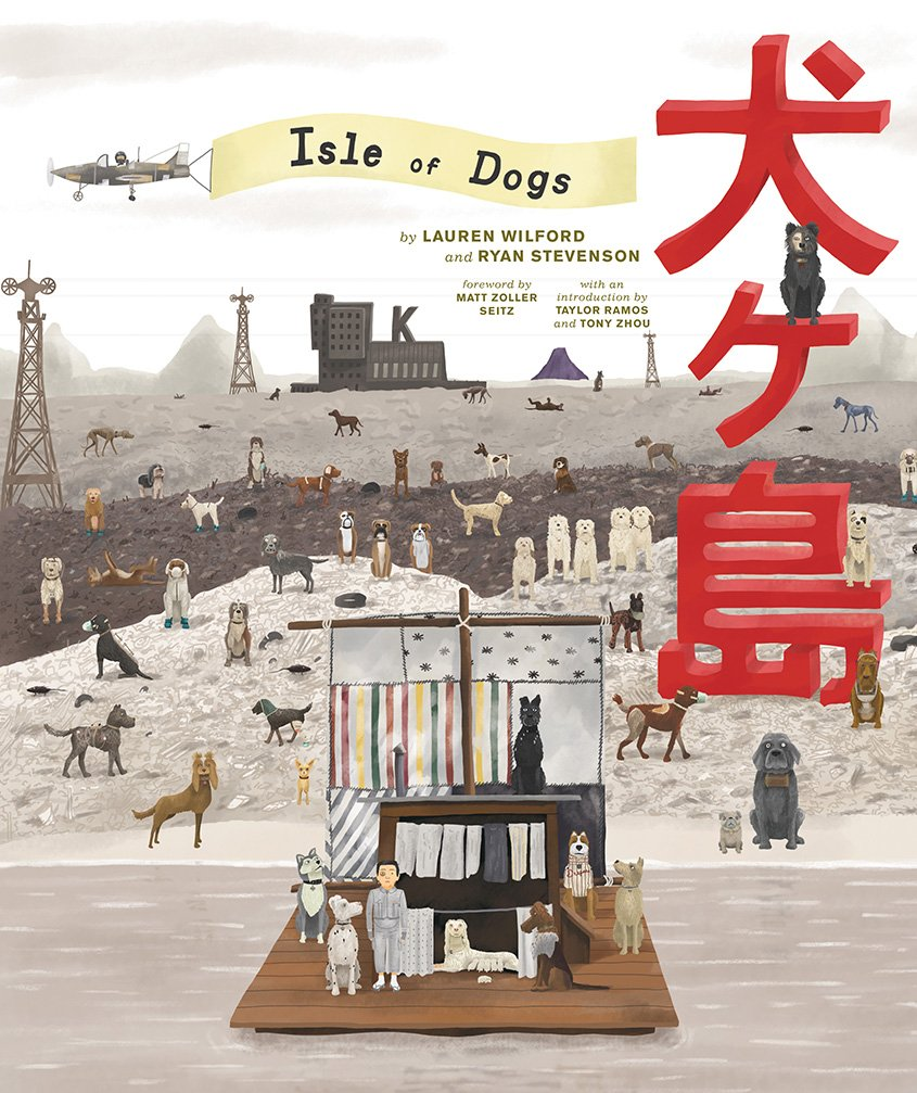 The Wes Anderson Collection: Isle of Dogs (Hardcover, SIGNED)