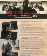 Load image into Gallery viewer, Sopranos Film Festival program