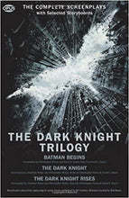 Load image into Gallery viewer, The Dark Knight Trilogy: The Complete Screenplays (Paperback)