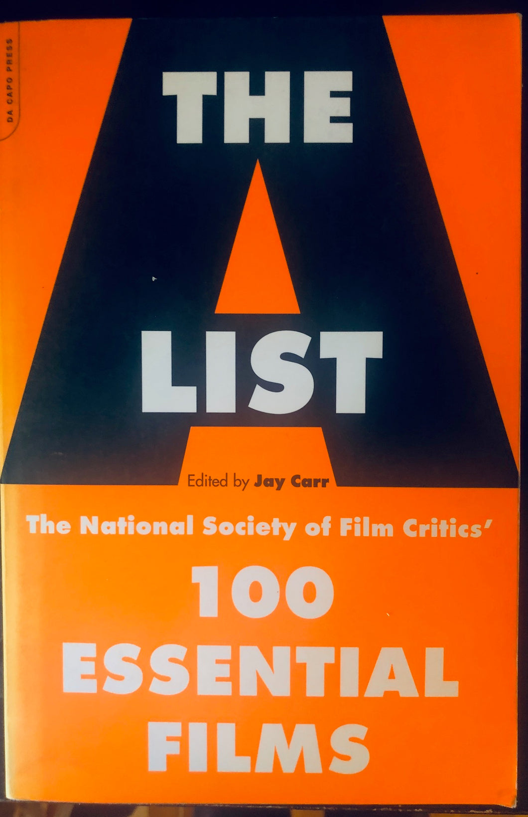 The A List: The National Society Of Film Critics' 100 Essential Films (Paperback, SIGNED)