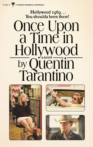 [PRE-ORDER] Once Upon a Time in Hollywood: The Novel (Paperback)