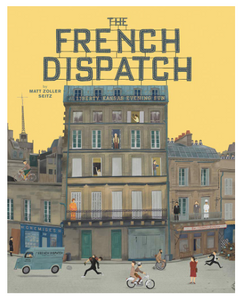 [PRE-ORDER]  The Wes Anderson Collection: The French Dispatch (Hardcover, signed by MZS)