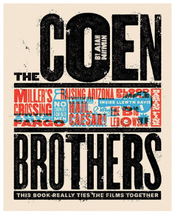 The Coen Brothers: This Book Really Ties the Films Together (Hardcover, SIGNED)
