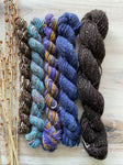 Mini Skeins Of Hand Spun Yarn