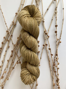 Tan 50g SW Merino Nylon Yarn