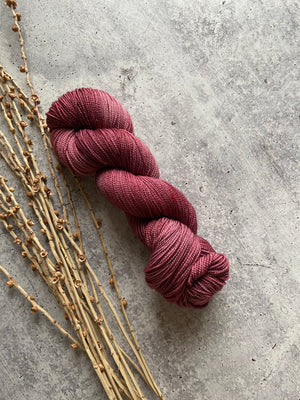 Rose SW Merino Nylon Hand Dyed Yarn