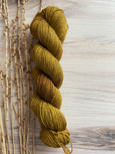 Gold SW Merino Yak Silk Yarn