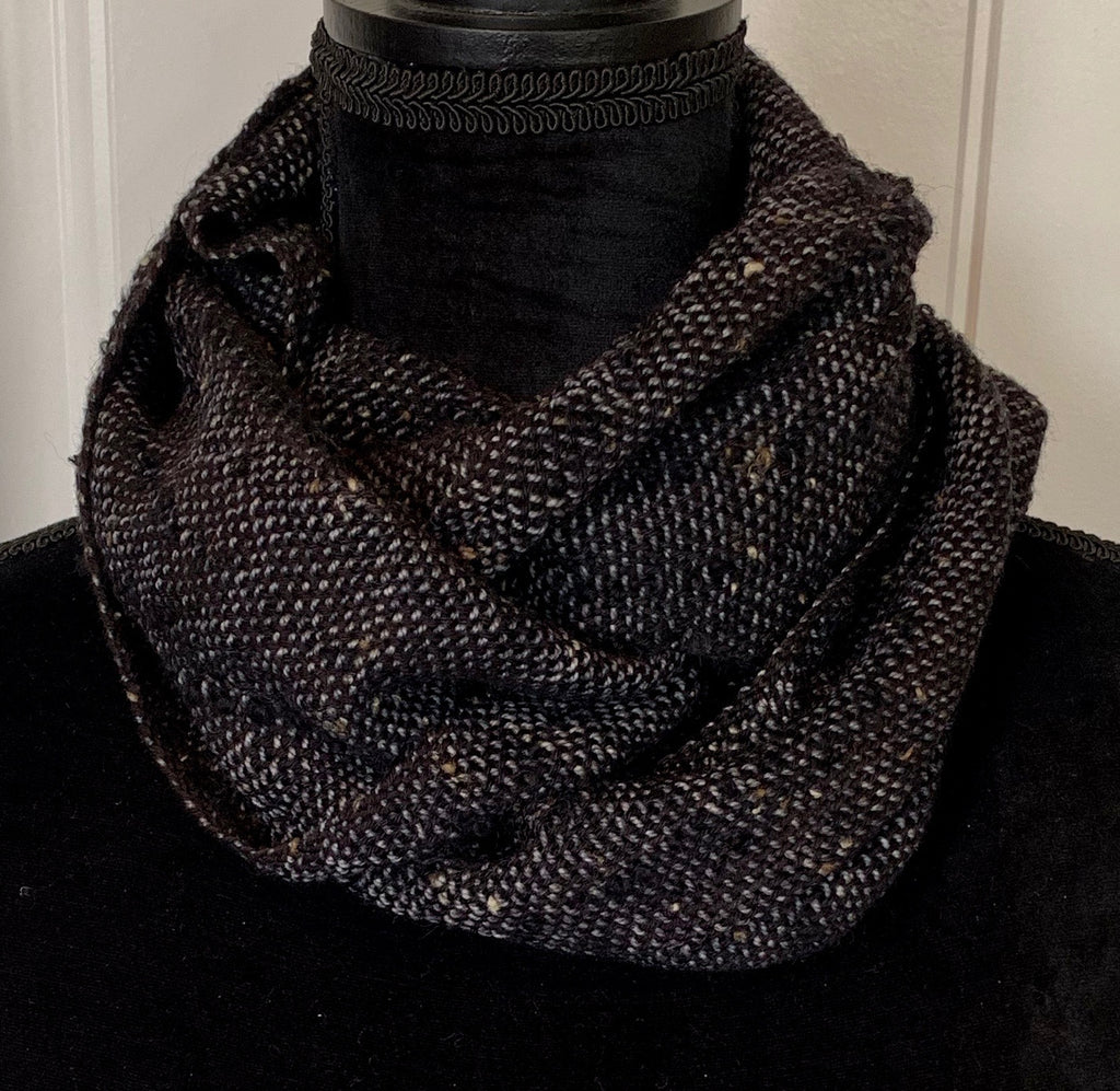 Black Tweed Scarf