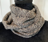 White Tweed Scarf