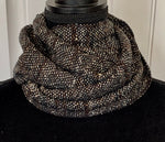 Gray Green Tweed Scarf