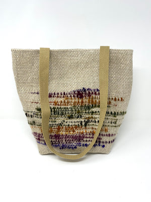 Natural Linen Tote Bag