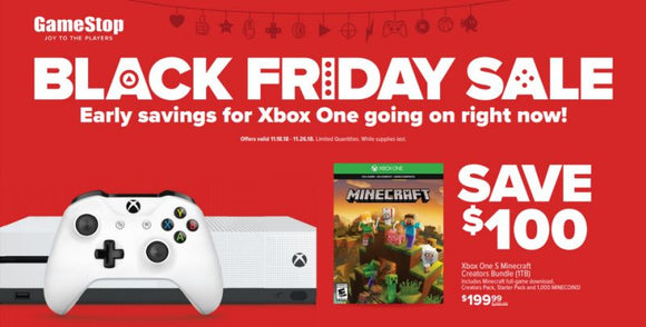 Some Black Friday Deals At GameStop 11/21-11/26/18