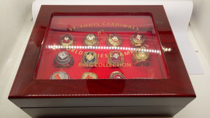 St. Louis Cardinals Replica World Series Rings Set With Display Box