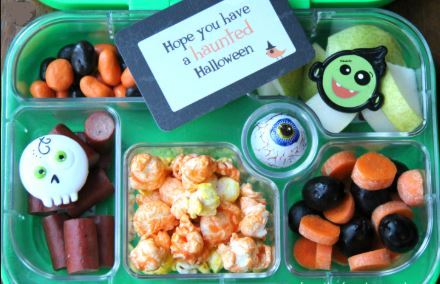 Halloween lunchbox for schoolkids