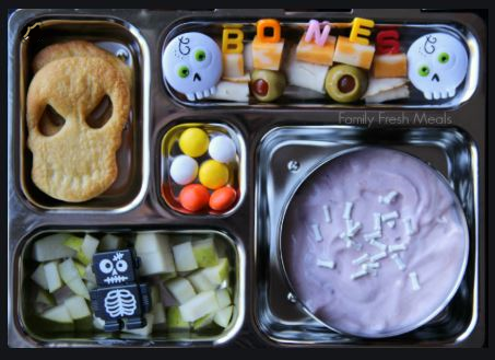 Halloween themed lunchbox for kids