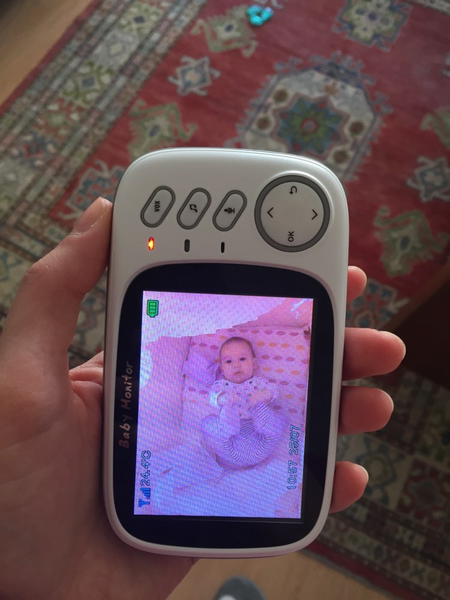 customer picture of wireless baby monitor