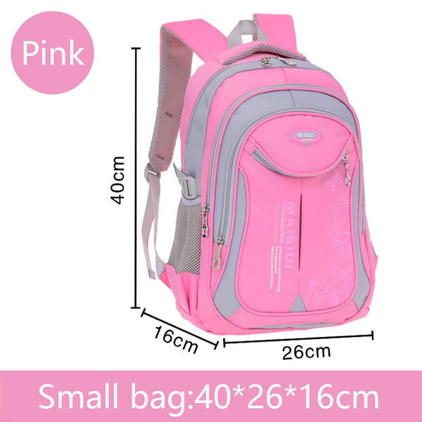 Small School bag backpack in pink
