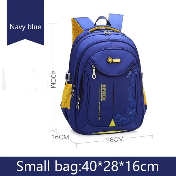 Small School bag backpack in royal blue