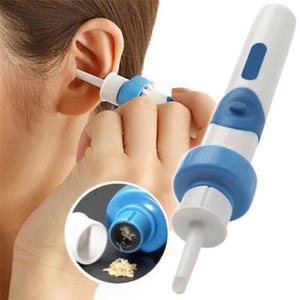 Ear wax vacuum cleaner